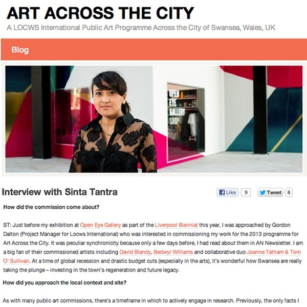 Interview with Sinta Tantra