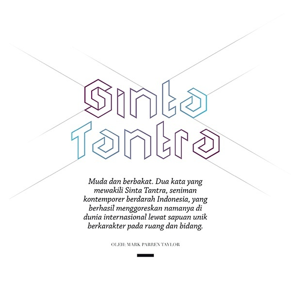 Feature: Sinta Tantra