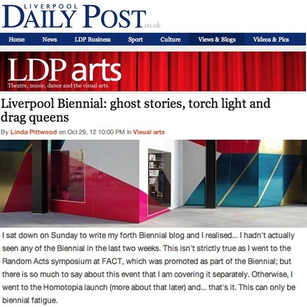 Liverpool Biennial: Ghost Stories, Torch Lights and Drag Queens