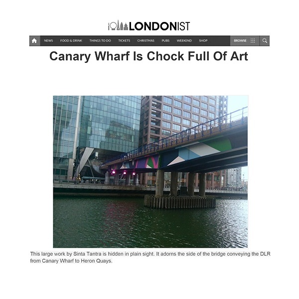 Canary Wharf is Chock Full of Art