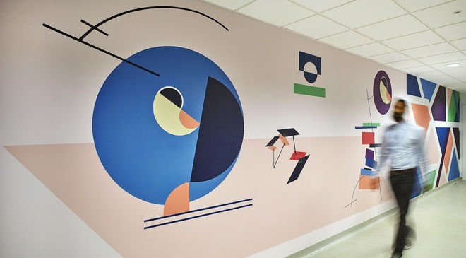 The Sound of Colours, St Paul's Way Medical Centre, London